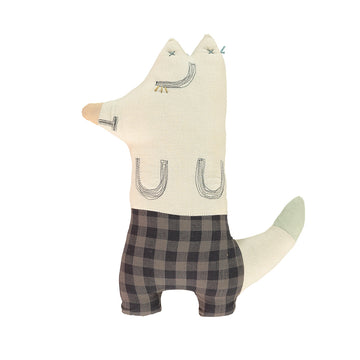 Poeme lifestyle sells cotton fox cushion by Camomile London online in Australia.