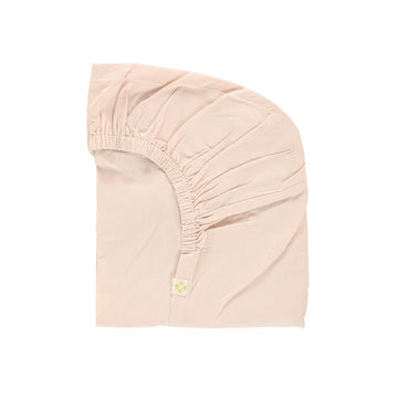 Cot Fitted Sheet - Pink