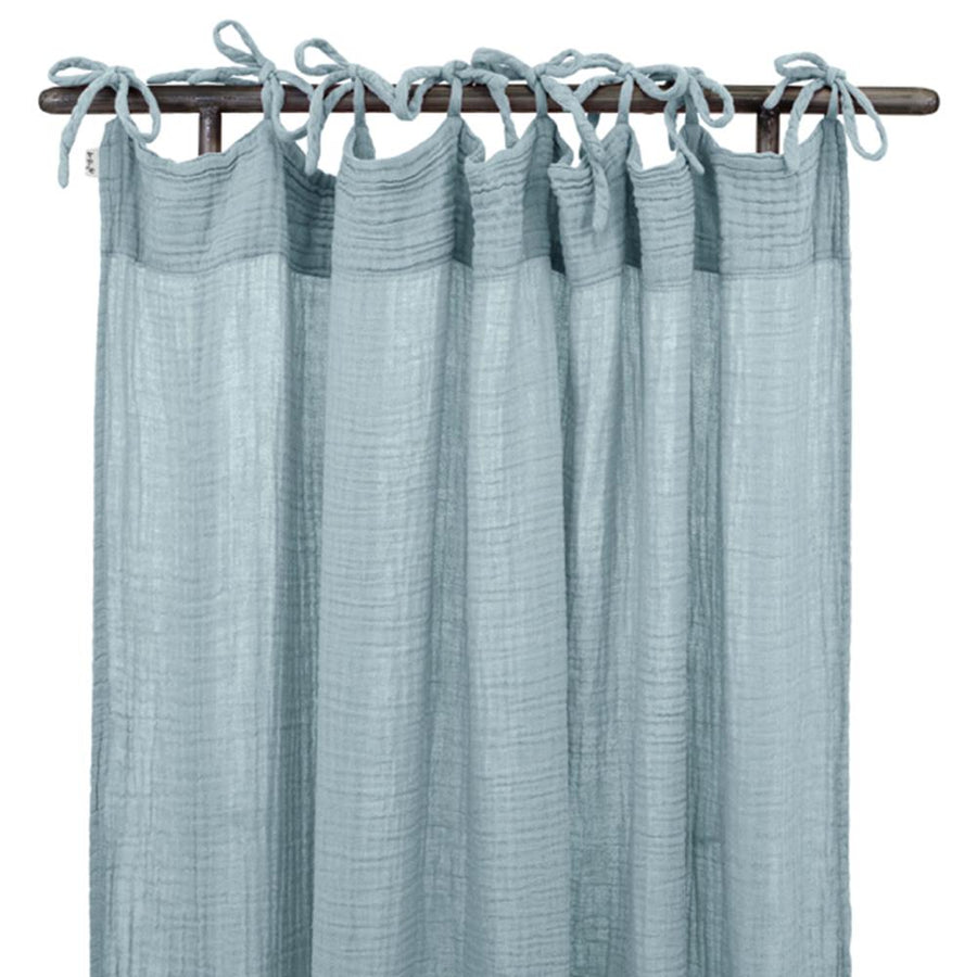 Poeme Lifestyle sells organic cotton handcrafted curtain for your decor by Numero 74  online in Australia. Available in many different earthy colors.