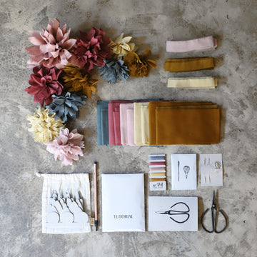 Poeme lifestyle sells flower creative kits by Numero 74 online in Australia.