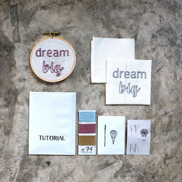 Poeme lifestyle sells diy hoop creative kit by Numero 74 online in Australia.