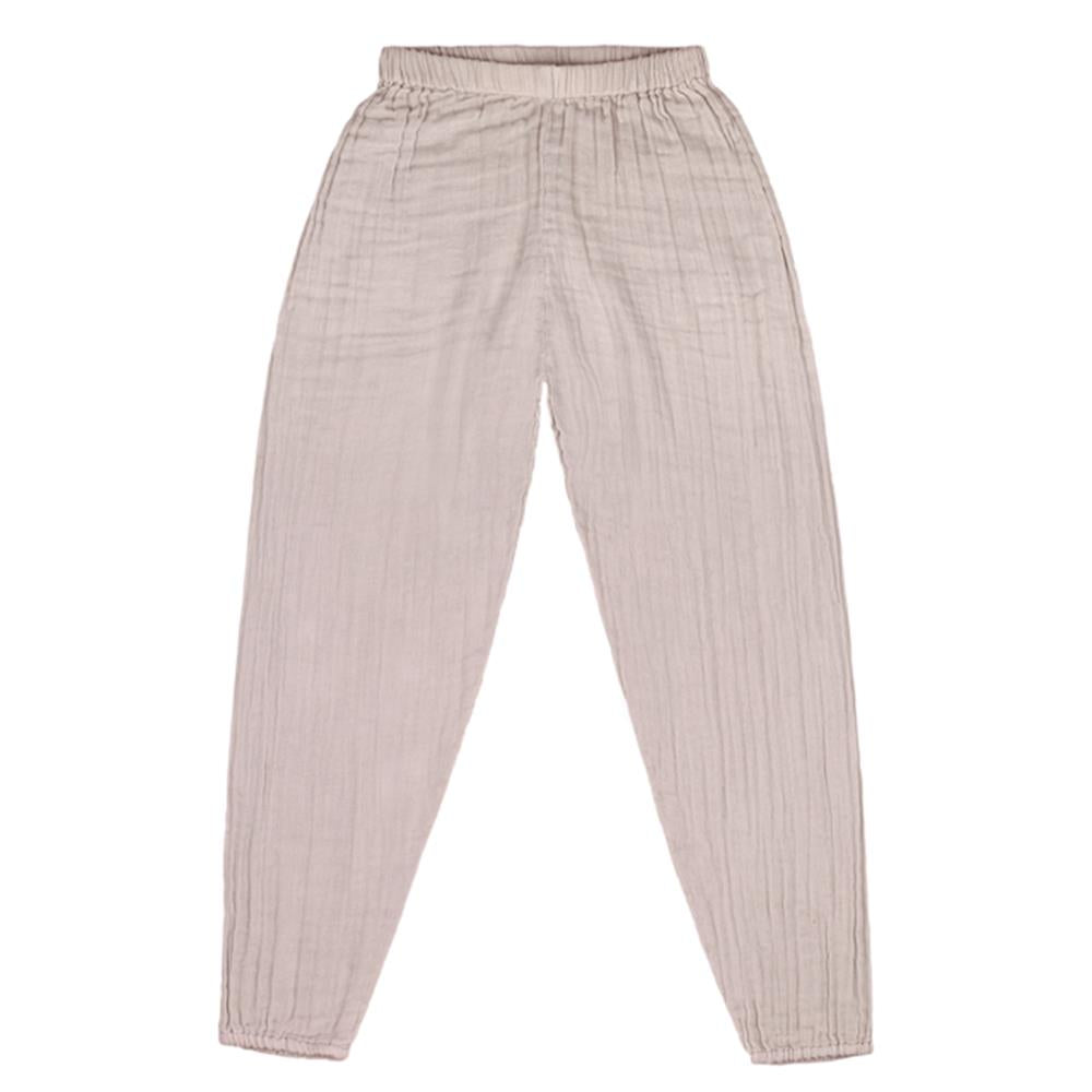 Poeme Lifestyle sells beautiful organic cotton Joe pants for kids by Numero 74  online in Australia. Available in many different earthy colors.