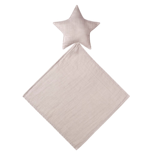 Poeme lifestyle sells beautiful soft and handcrafted organic cotton star doudou comforter for babies  online in Australia. Comes in a many different earthy colours.