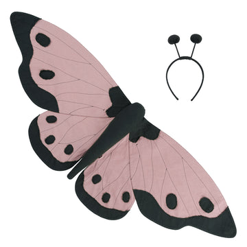 Lucy Butterfly Wings- Dusty Pink