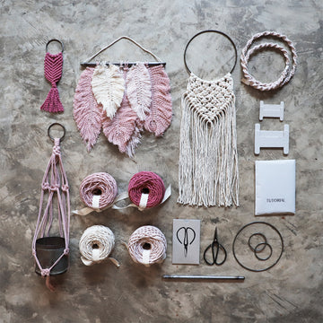 Poeme lifestyle sells macrame creative kits by Numero 74 online in Australia.