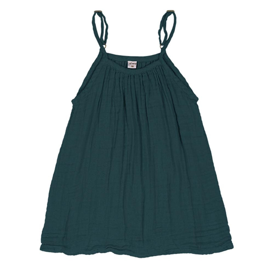 Poeme lifestyle sells organic cotton Mia dress for girls online in Australia. Available in many different earthy colours.