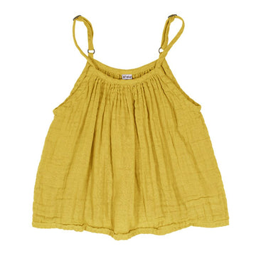 Poeme lifestyle sells organic cotton Mia top for kids online in Australia. Available in many different earthy colours.
