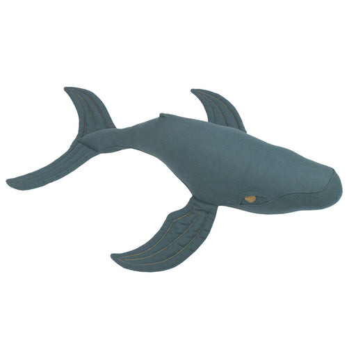 Poeme lifestyle sells organic whale cushion for kids' bedroom decor online in Australia. Available in many different earthy colours.