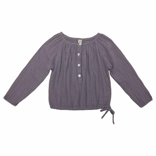 Poeme Lifestyle sells 100% organic cotton Naia shirt for kids by Numero 74 online in Australia as a timeless clothing. Available in a range of earthy colors.