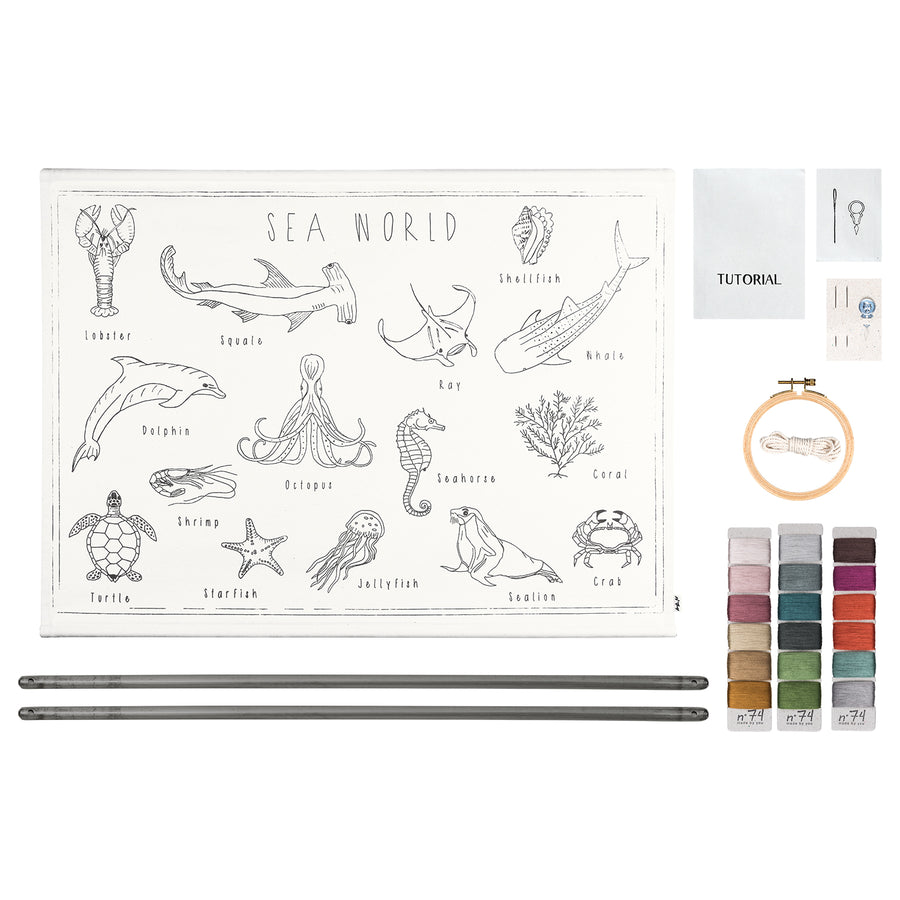School Poster Creative Kit - Sea World