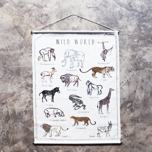 School Poster Creative Kit - Wild Animals