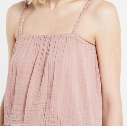 Chloe Top Mum - Dusty Pink