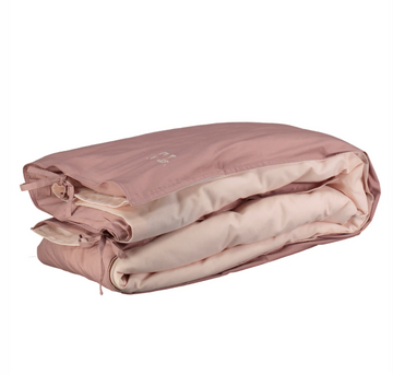 Double Quilt Cover - Blush/Pink Reversible