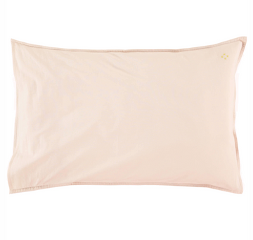 Organic Standard Pillowcase - Powder Pink