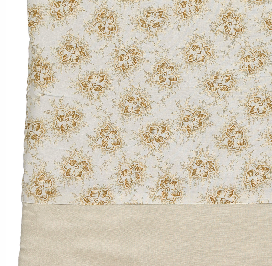 Sleeping bag - Spot Floral Gold