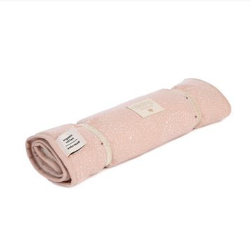 TRAVEL CHANGING PAD NOMAD- DUSTY PINK