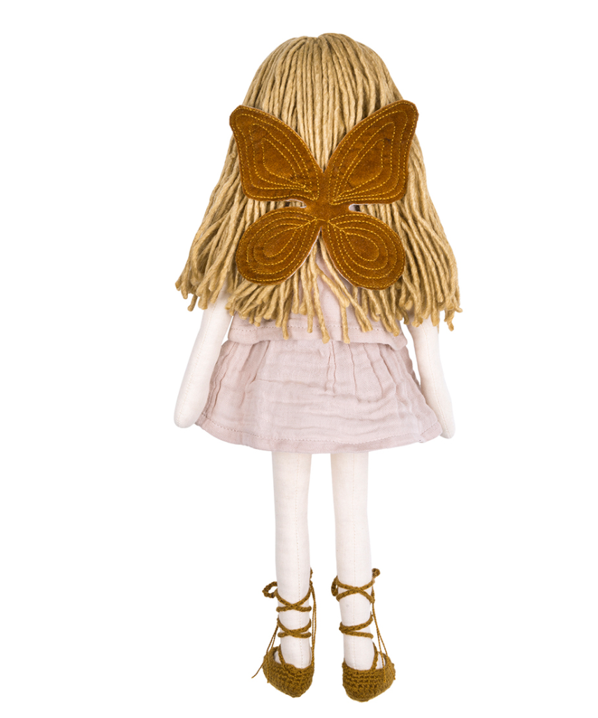 Numero 74 Doll Fairy Set- Gold