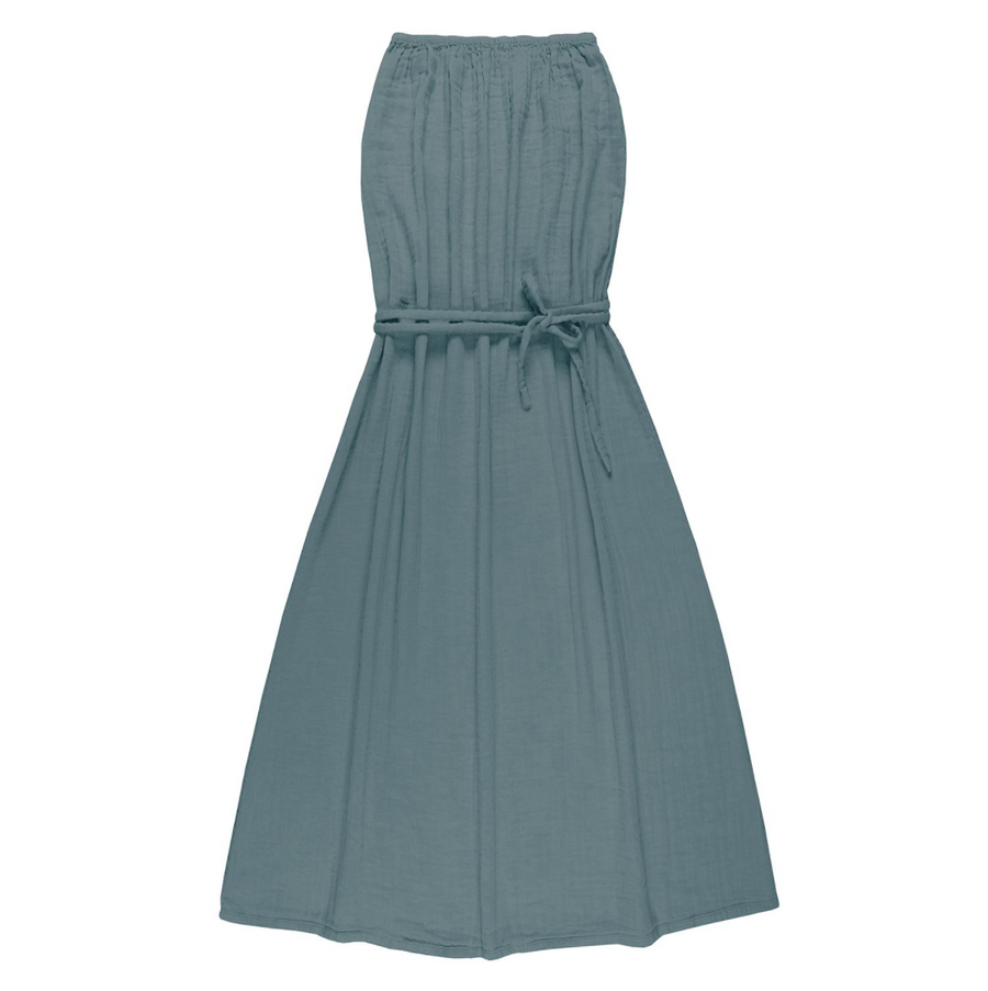 Sienna Long Women Dress - Ice Blue