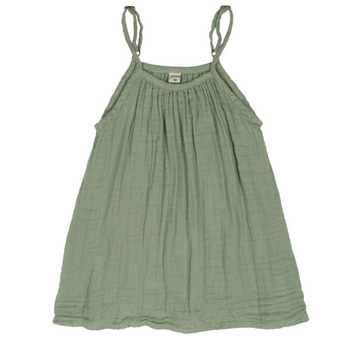 new Numero74 colour Mia dress kid in Sage Green