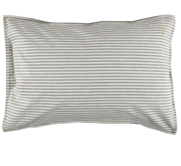 Standard Pillowcase - Ticking Charcoal