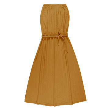 Sienna Long Women Dress - Gold