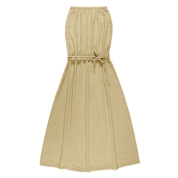 Sienna Long Women Dress - Mellow Yellow