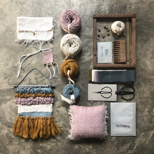 Poeme lifestyle sells weaving creative kits by Numero 74 online in Australia.