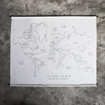 Numero 74 World Map Creative Kit