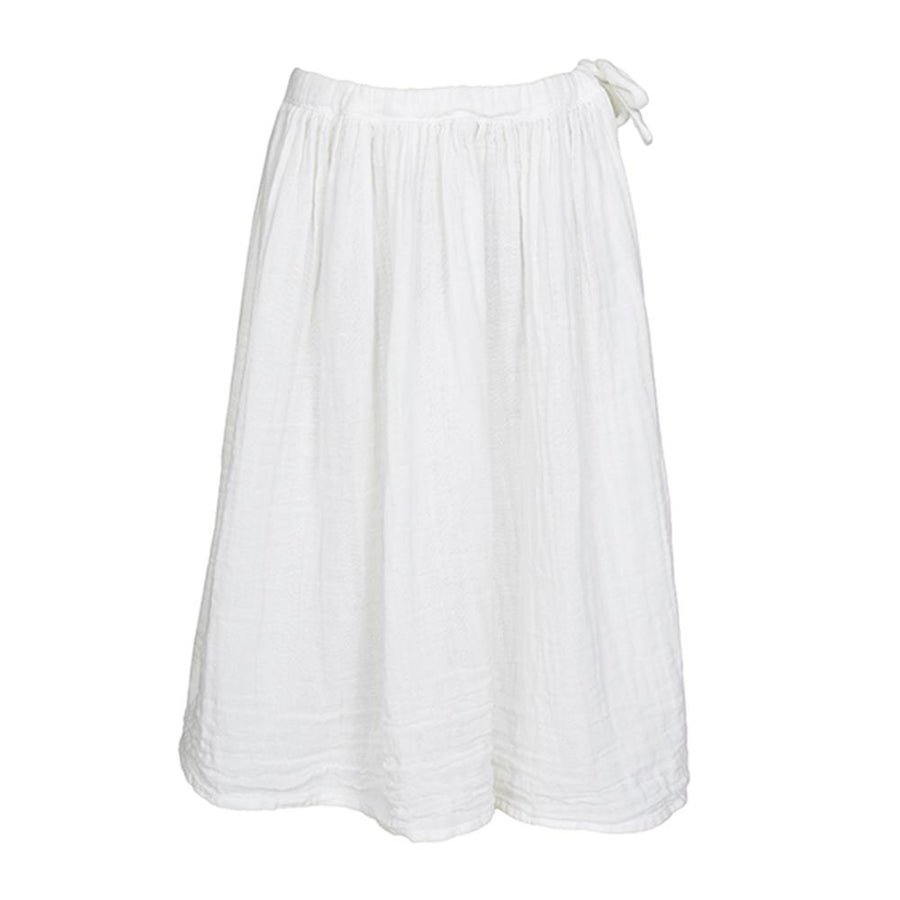 Ava Long Skirt Kid - White