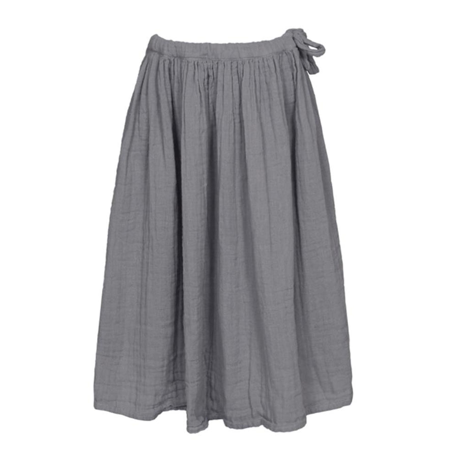 Numero 74 Ava Long Skirt Kid - Stone Grey