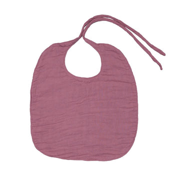Poeme Lifestyle sells gorgeous organic cotton Baby bib round online in Australia. Available in many earthy colors.