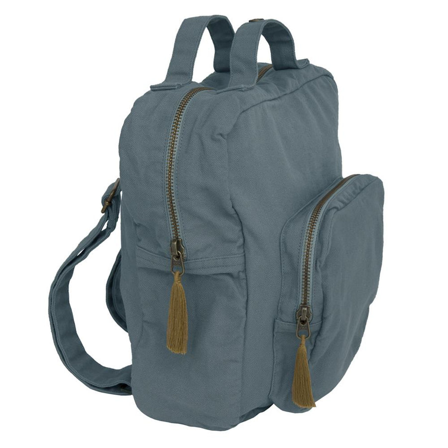 Poeme Lifestyle sells gorgeous organic cotton backpack for kids online in Australia. Available in many earthy colors.