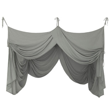 Poeme Lifestyle sells gorgeous organic cotton bed drapes double by Numero 74 online in Australia. Available in many earthy colors.