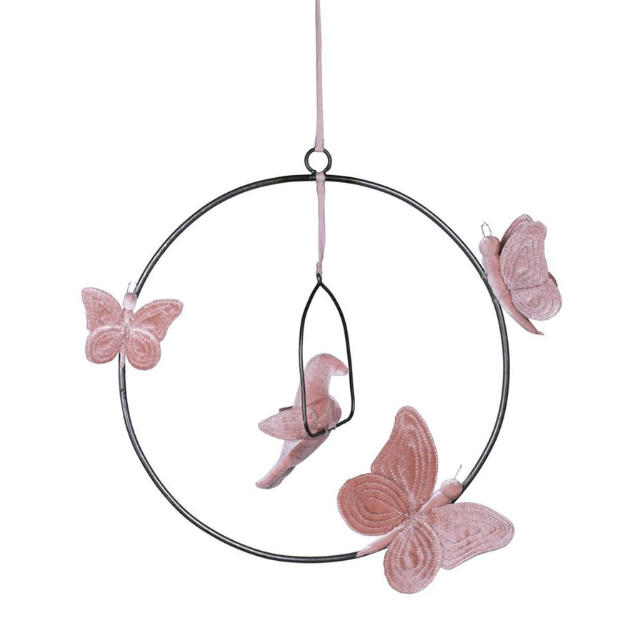 Bohemian Swing Mobile - Dusty Pink
