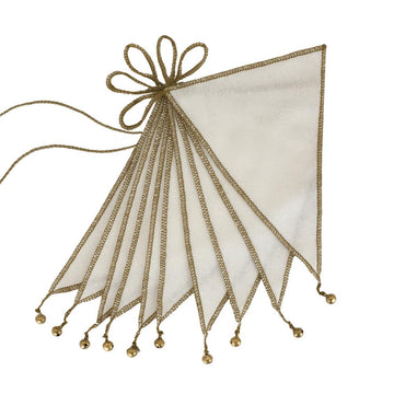 Poeme Lifestyle sells organic cotton bunting by Numero 74 as a poetic decor item for children' bedroom. Available in many different earthy colors.