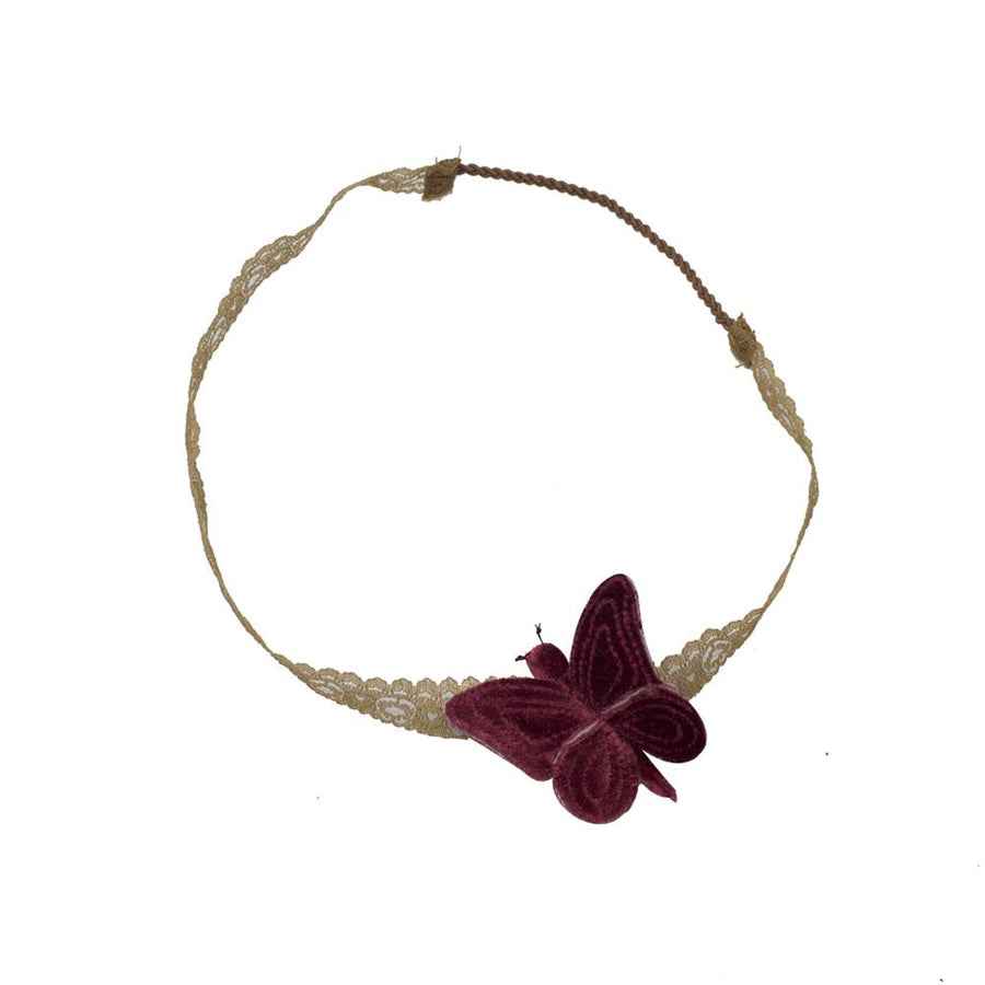 Poeme Lifestyle sells beautiful butterfly headbands for girls by Numero 74 online in Australia. Available in a range of earthy colors.
