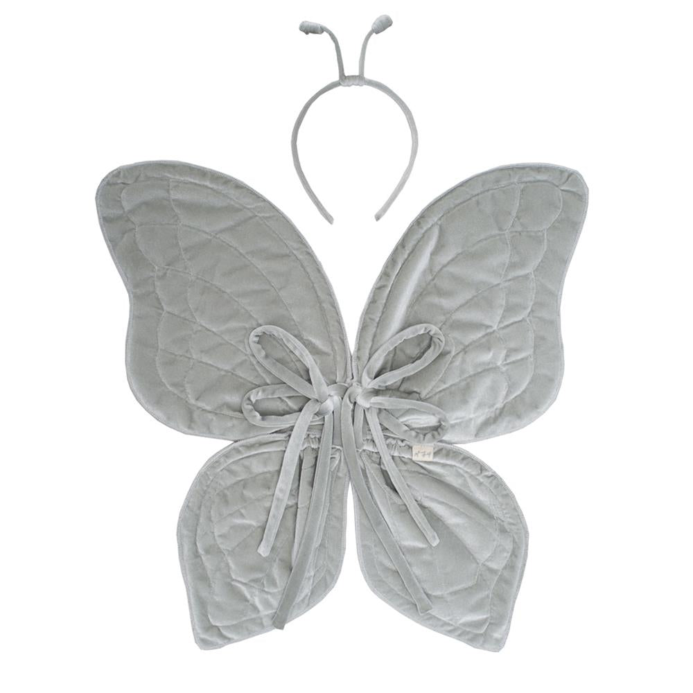 Butterfly Wings Silver Grey Po 232 Me Lifestyle