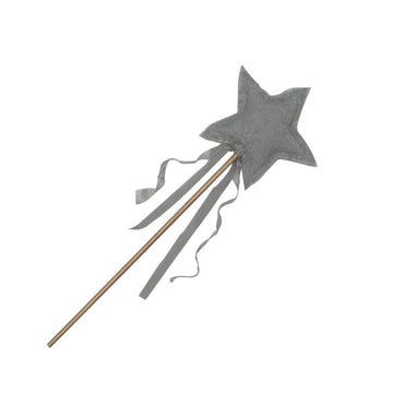 Carolina Star Wand - Silver Grey