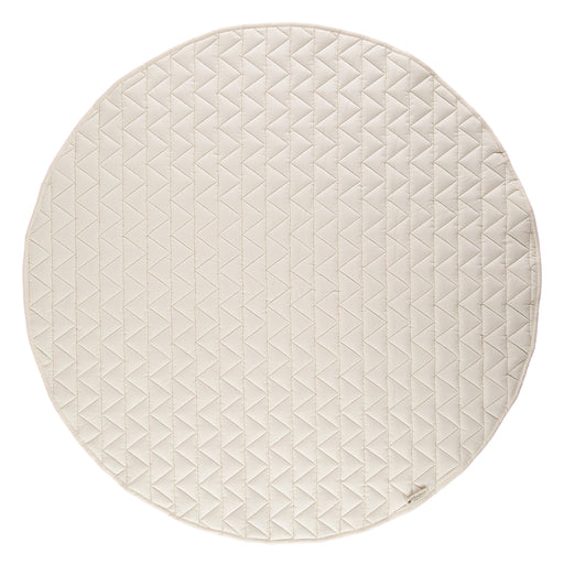 Quilted floor mat - Natural