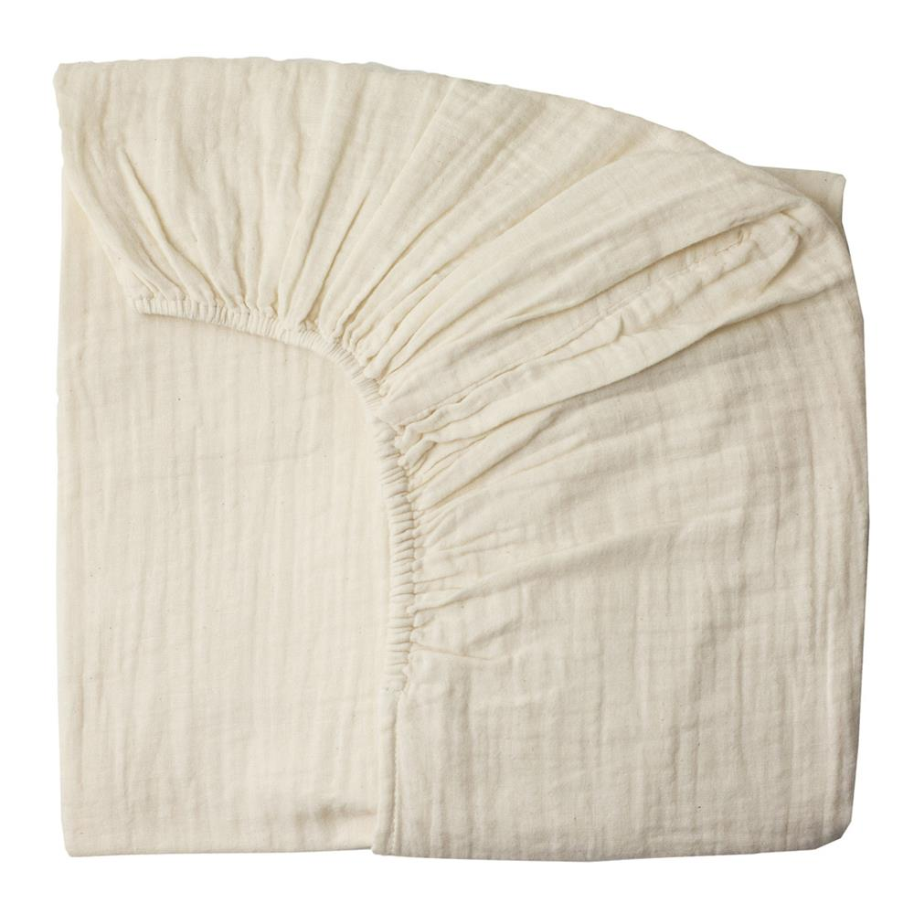 Poeme Lifestyle sells organic cotton fitted sheet cot for babies' bedroom by Numero 74  online in Australia. Available in many different earthy colors.
