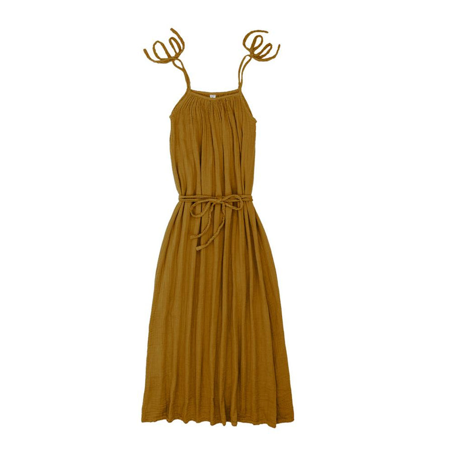 Poeme lifestyle sells organic cotton Mia long dress for mums online in Australia. Available in many different earthy colours.
