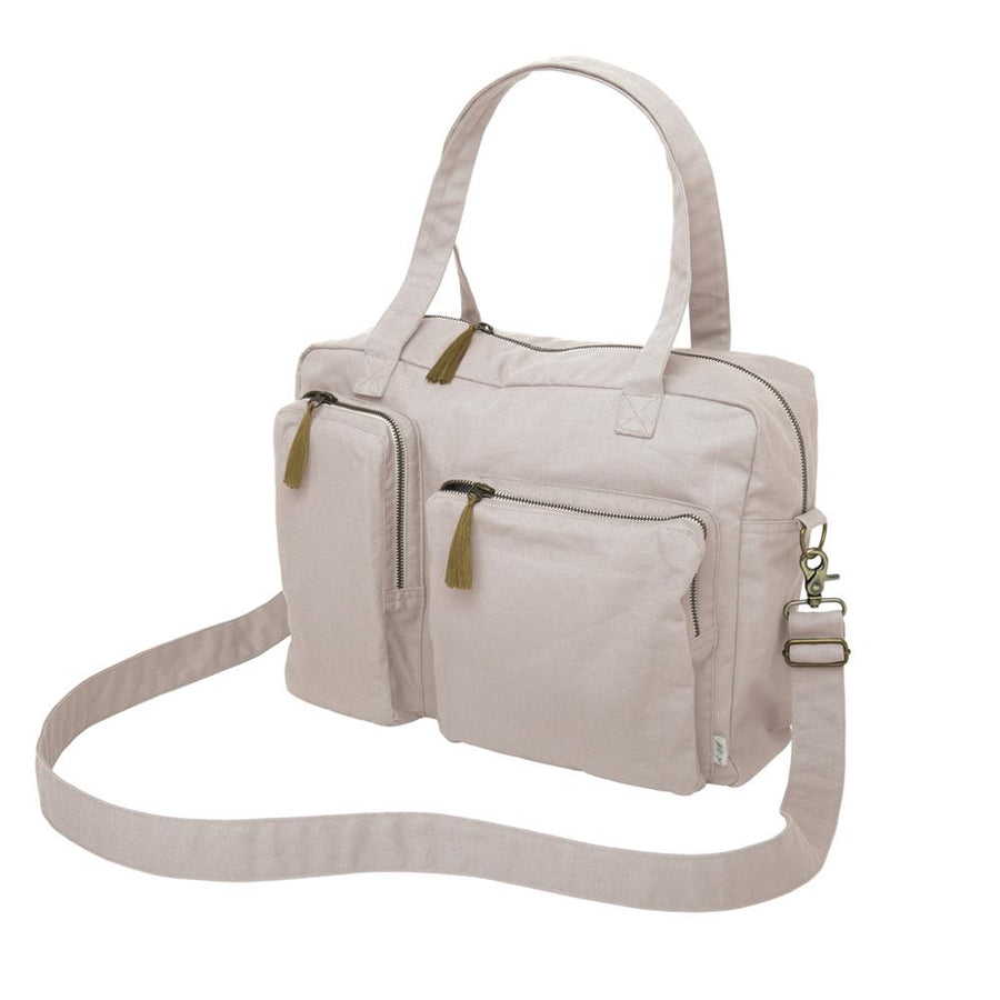 Poeme lifestyle sells organic cotton nursery essential handbag online in Australia. Available in many different earthy colours.