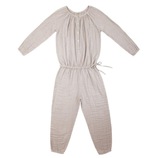 Poeme Lifestyle sells 100% organic cotton Naia jumpsuit for mums by Numero 74 online in Australia as a timeless clothing. Available in a range of earthy colors.