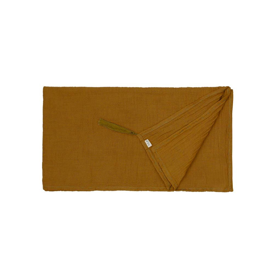 Poeme lifestyle sells beautiful soft and handcrafted organic cotton long scarf online in Australia. Comes in a wide range of earthy colours.