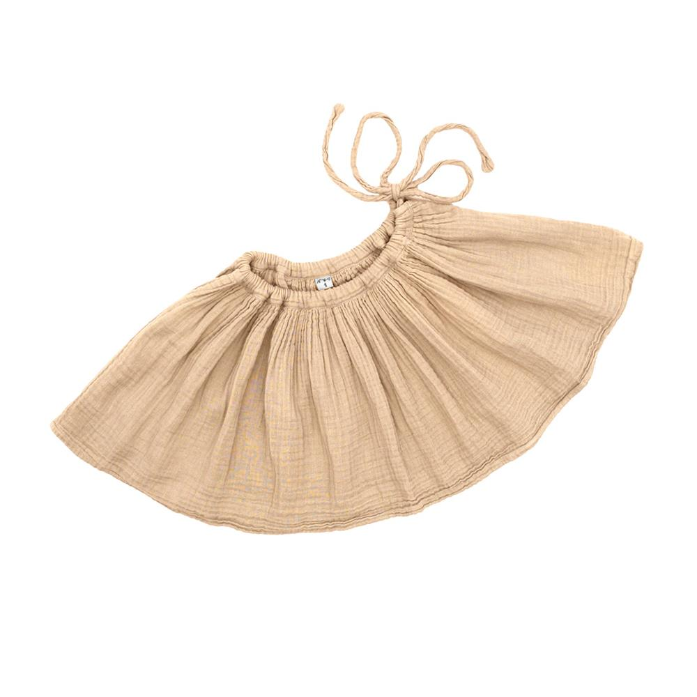 Poeme Lifestyle sells organic cotton skirt for kids by Numero 74. Available in many earthy colors.