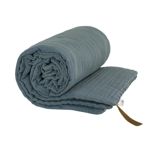 Cot Winter Blanket - Ice Blue