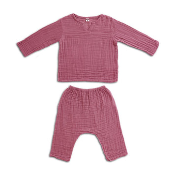 Poeme Lifestyle sells organic cotton Zac suit for babies and kids  by Numero 74 online in Australia. Available in many earthy colors.