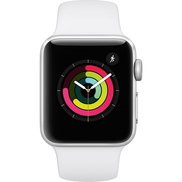Apple Watch Series 3 (GPS) 38mm Aluminum Case, Silver