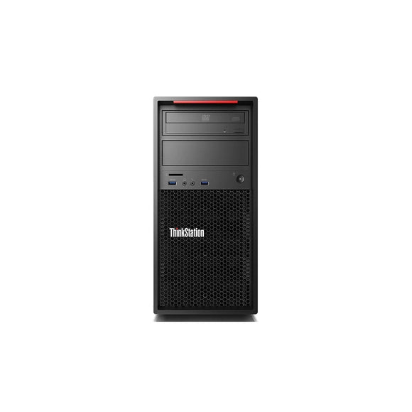 Lenovo ThinkStation P320 Tower Workstation 16GB 2.5TB X4 4.2GHz Win10, Black (Certified Refurbished)
