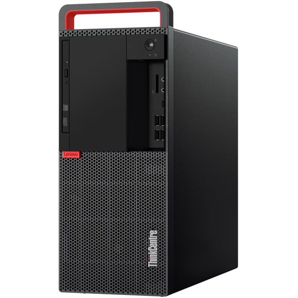 Lenovo ThinkCentre M920t Tower 16GB 500GB Intel Core i7-8700 Win10, Black (Certified Refurbished)